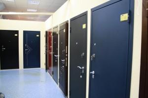 Входные защитные металлические двери