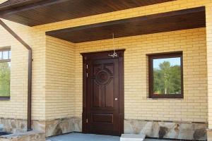 Входные двери на дачу