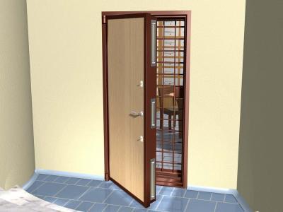 Двери наружного открывания